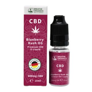 Breathe Organics – CBD E-Liquid 10 ml